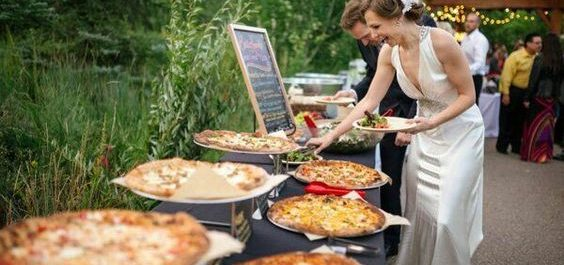 Pizza Catering Ideas for Weddings Receptions