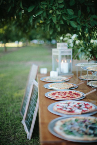 Roam'in Pizza Brisbane Wedding Pizzas