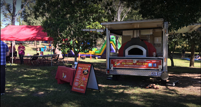 Pizza Catering Brisbane food cart